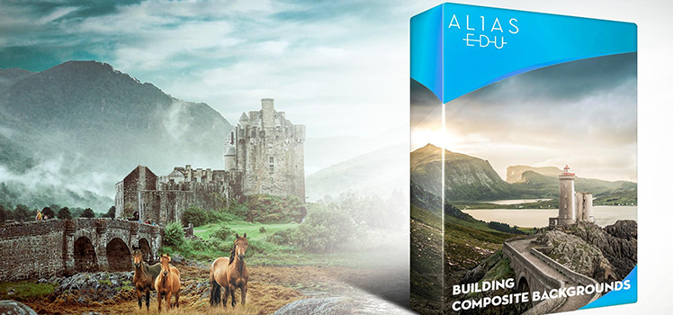AliasEDU - Building composite backgrounds - Antti Karppinen