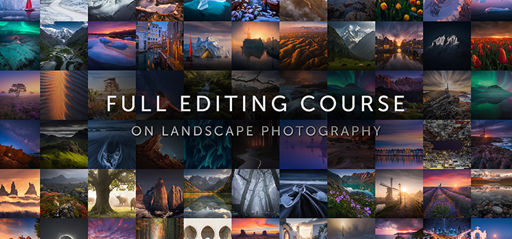 Full Editing Course on landscape photography