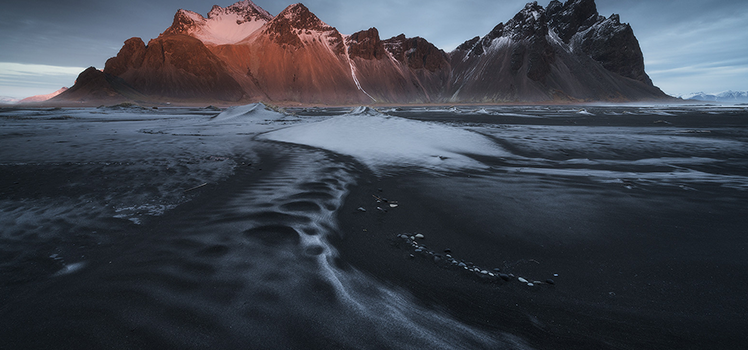 Photographing ice and winter landscapes