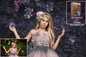 Pink and Blue- Color Grading and Painterly Photoshop Tutorial