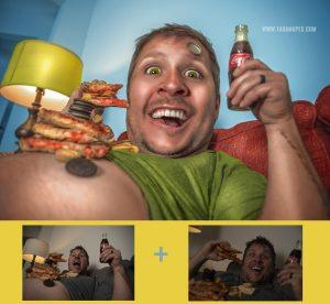 Pandemic Diet Cartoon Tutorial